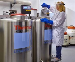 Cryo Tanks - Cell Culture or Biospecimen small