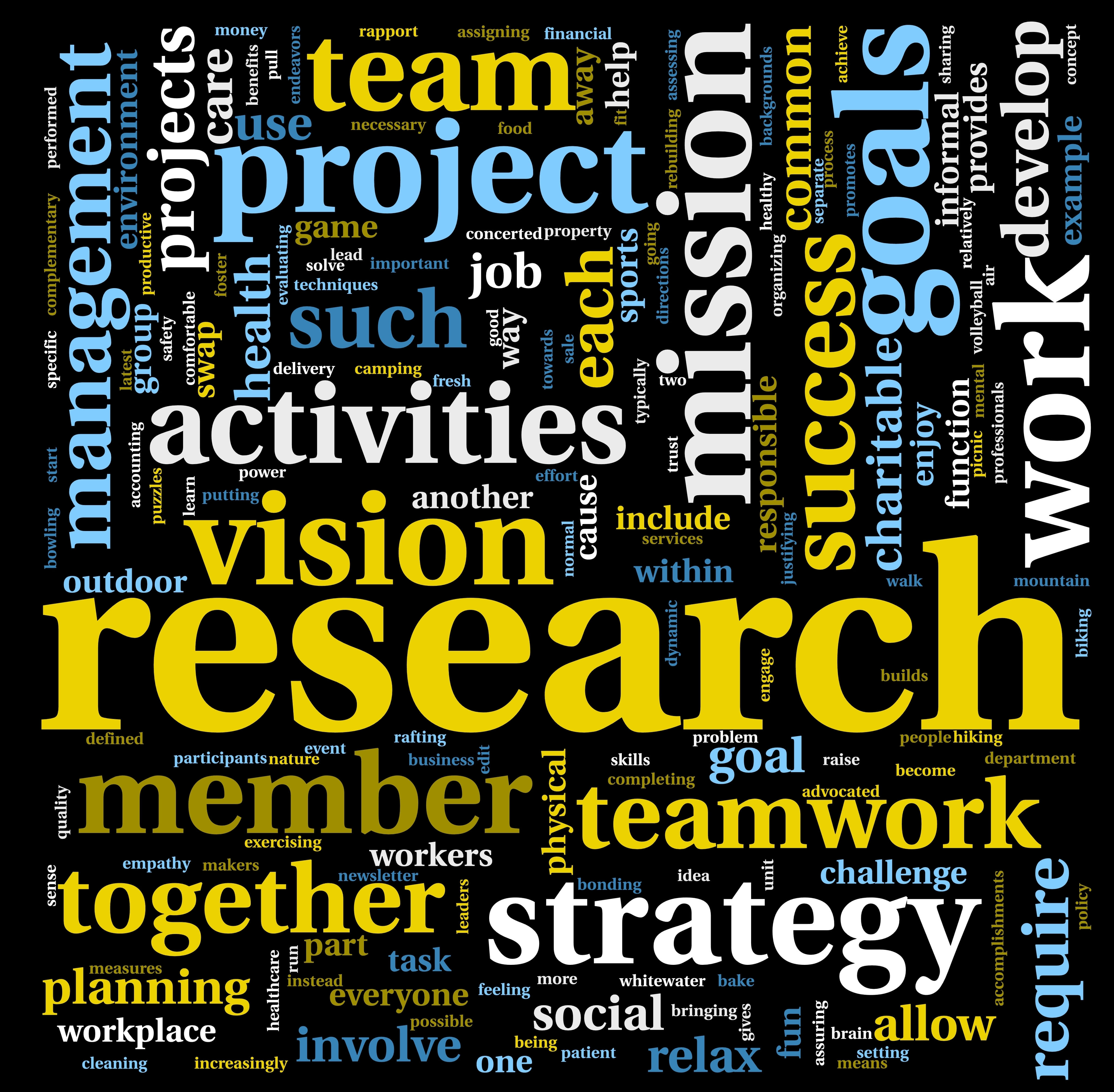 Research word scramble