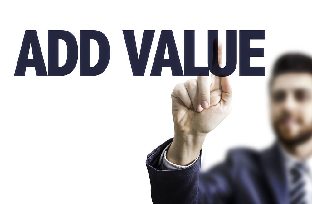 add value sign